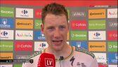 Bennett po wygraniu 3. etapu Vuelta a Espana