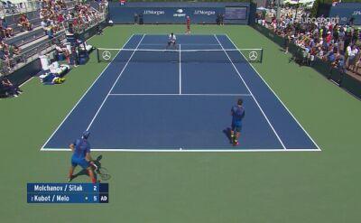 Kubot i Melo awansowali do drugiej rundy US Open