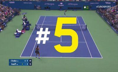 Najlepsze zagrania szóstego dnia US Open