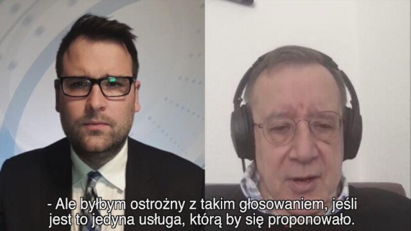 Toomas Hendrik Ilves: byłby ostrożny z wyborami internetowymi, jeśli to jedyna możliwość głosowania