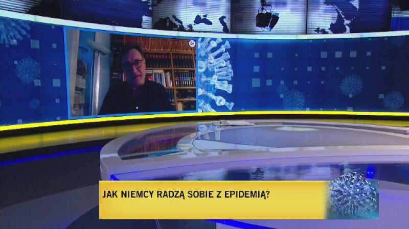 Raport z Niemiec korespondenta Radia ZET, Wojciecha Hernesa