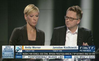 Redakcyjni koledzy Dariusza Kmiecika wspominali przyjaciela na antenie TVN24