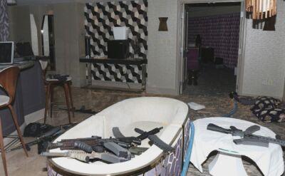 Odtajnione zdjęcia z pokojów zamachowca w Las Vegas