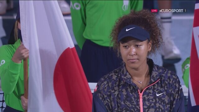 Naomi Osaka odebrała trofeum za zwycięstwo w Australian Open