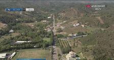 Kraksa na 1. etapie Volta ao Algarve