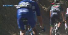Upadek Rui Costy na 20 km przed metą 2. etapu Volta ao Algarve