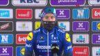 Davide Ballerini po wygraniu wyścigu Omloop Het Nieuwsblad