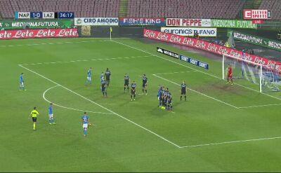 Gol Milika przeciwko Lazio