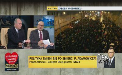 Paweł Zalewski i Grzegorz Długi w Tak Jest