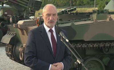 Szef MON: rozważanych jest kilka lokalizacji sił amerykańskich w Polsce