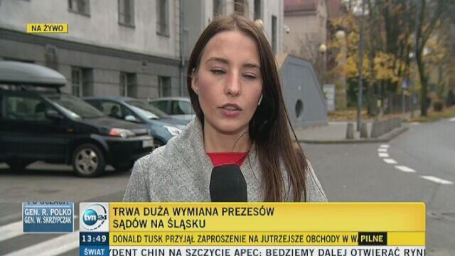 Wymiana prezesów sądów a apelacji śląskiej