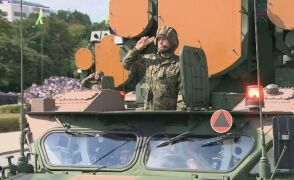 Przejazd rakietowych i przeciwlotniczych środków walki