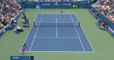 Magda Linette w furii roztrzaskała rakietę w 1. rundzie US Open