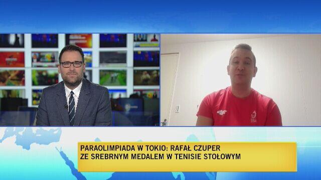 Rafał Czuper o srebrnym medalu na igrzyskach paraolimpijskich