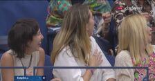 Piłka Miedwiediewa poszybowała w publiczność na US Open
