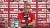 Sousa o problemach przed wrześniowymi meczami