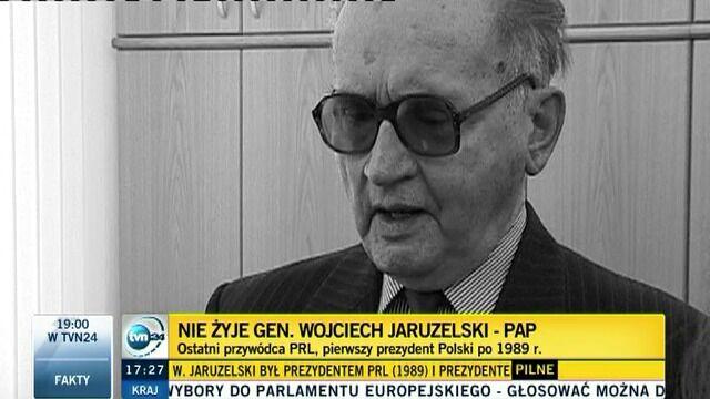 Zbigniew Janas o Wojciechu Jaruzelskim