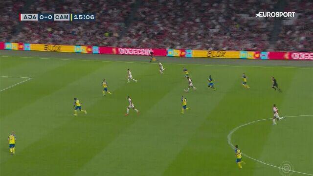 Dziewięć goli Ajaksu Amsterdam w meczu z Cambuur