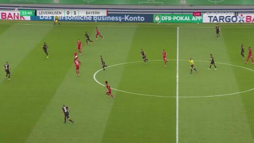 Finał Pucharu Niemiec. Bayern - Bayer 2:0 (Gnabry)
