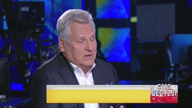 Kwaśniewski: PiS-owi trzeba pogratulować