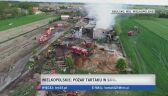 Pożar tartaku w Smulsku