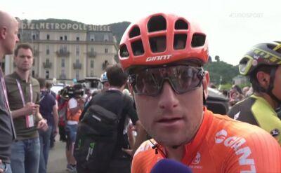 Owsian po 15. etapie Giro d'Italia