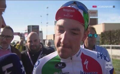 Viviani wycofał się z Giro d'Italia