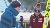 Kamil Stoch po sobotnim konkursie na Kulm