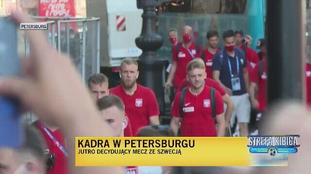 Reprezentacja Polski zameldowała się w Sankt Petersburgu