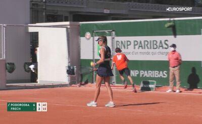 Koniec przygody Magdaleny Fręch z French Open 2020