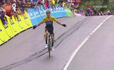 Primoz Roglić  wygrywa 2. etap Criterium du Dauphine