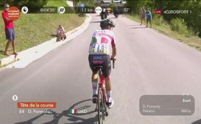 Davide Formolo wygrał 3. etap Criterium de Dauphine