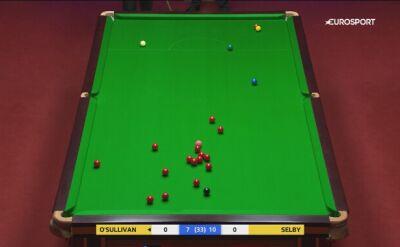 Mnóstwo szczęścia O'Sullivana w półfinale MŚ