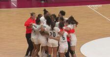 Tokio. Piłka ręczna kobiet. Francja ze złotym medalem. Ostatni punkt i radość Francuzek