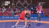 Tokio. Zapasy. Tadeusz Michalik - Musa Jewłojew w półfinale do 97 kg - cała walka