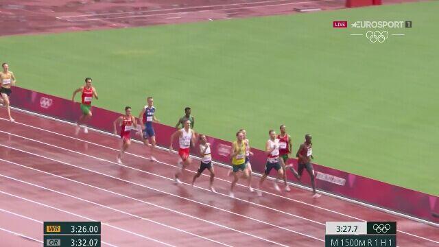 Tokio. Michał Rozmys szósty w fazie eliminacyjnej biegów na 1500 metrów