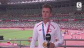 Tokio. Lekkoatletyka: rozmowa z Dawidem Tomalą po odebraniu złotego medalu