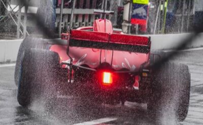 Vettel z pole position, dramat Hamiltona