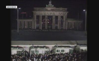 Upadek Muru Berlińskiego był symbolem zjednoczenia Niemiec