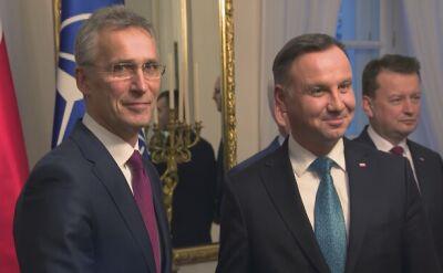 Szef NATO z wizytą w Polsce