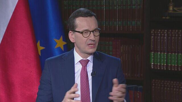 Mateusz Morawiecki o zarobkach w NBP
