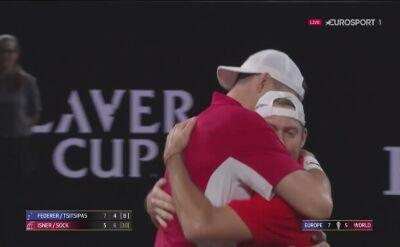 Puchar Lavera: Isner i Sock pokonali Federera i Tsitsipasa