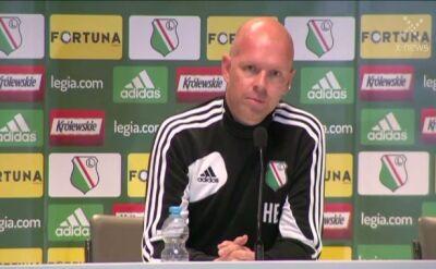 """Berg nie rozumie decyzji UEFA. """"Duch sportu i fair play powinny być najważniejsze"""""""