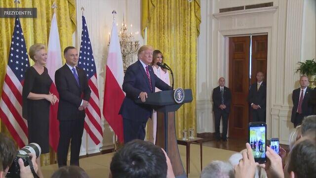 Całe przemówienie prezydenta Donalda Trumpa (w języku angielskim)