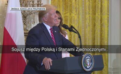 Trump o ambasador Mosbacher: wykonuje wspaniała robotę