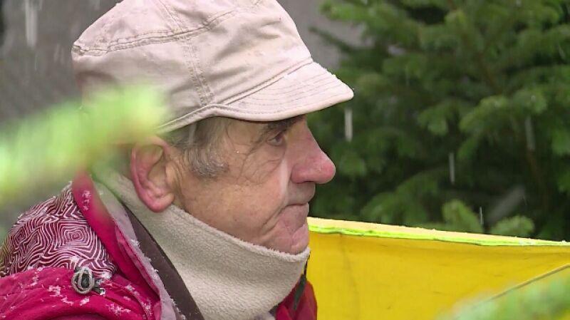 Bogusław Rychter, żebrak z ulicy Stawowej w Katowicach