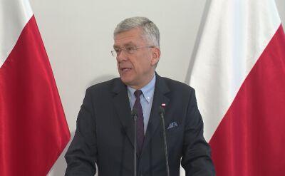 Karczewski: szanuję każde orzeczenie i wyrok sądu, choć tu nie zgadzam się z jego politycznym uzasadnieniem