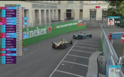 Premierowe zwycięstwo Evansa i Jaguara w Formule E