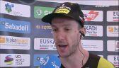 Adam Yates po wygraniu 6. etapu Wyścigu dookoła Kraju Basków