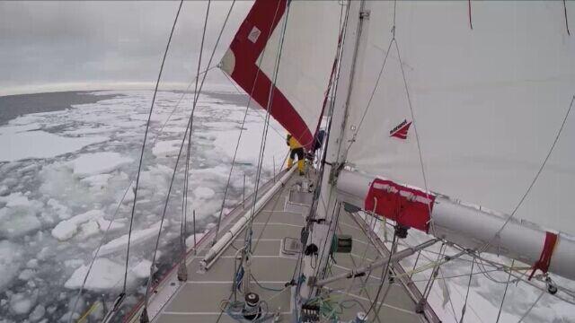 Selma Expedition płynie ku Zatoce Wielorybów